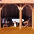 Terrassendielen streichen: wann trocken genug?