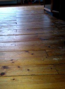 Alten Holzboden sanieren