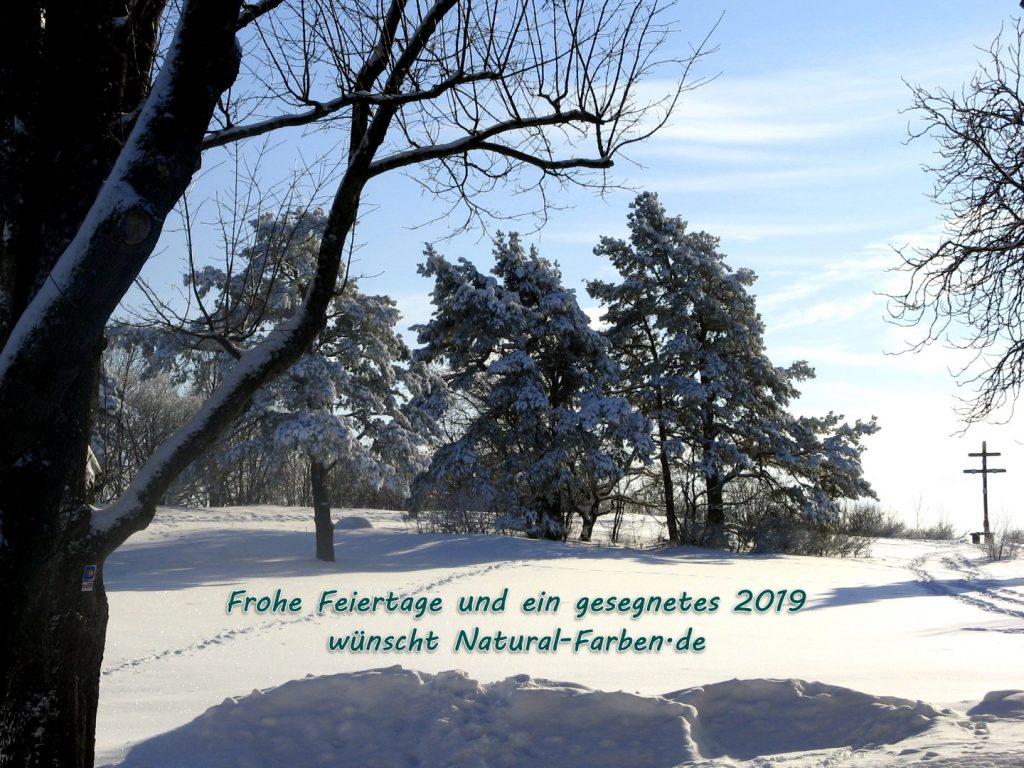 Natural Naturfarben macht Winterferien