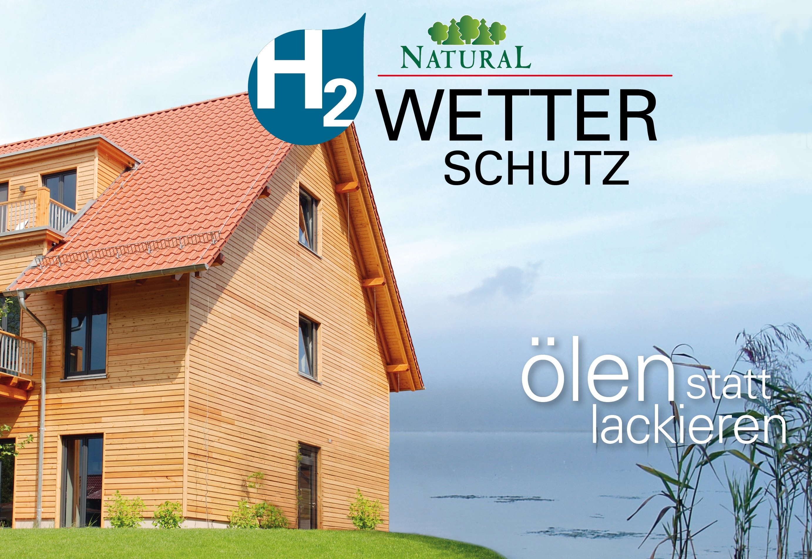h2-Wetterschutz von Natural Naturfarben