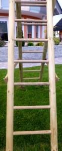 Klettergrüst aus kesseldruckimprägnierten Holz