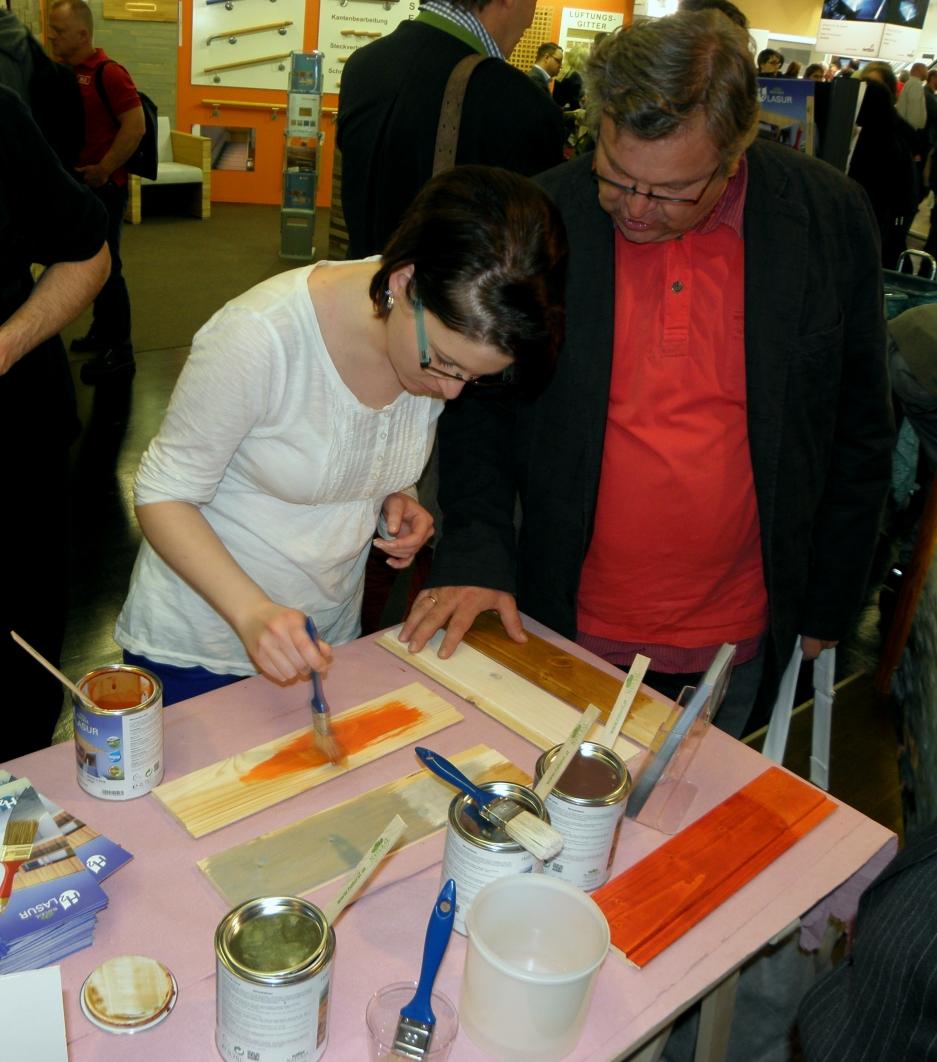 Holzlasuren testen - selbst Erfahrung sammeln
