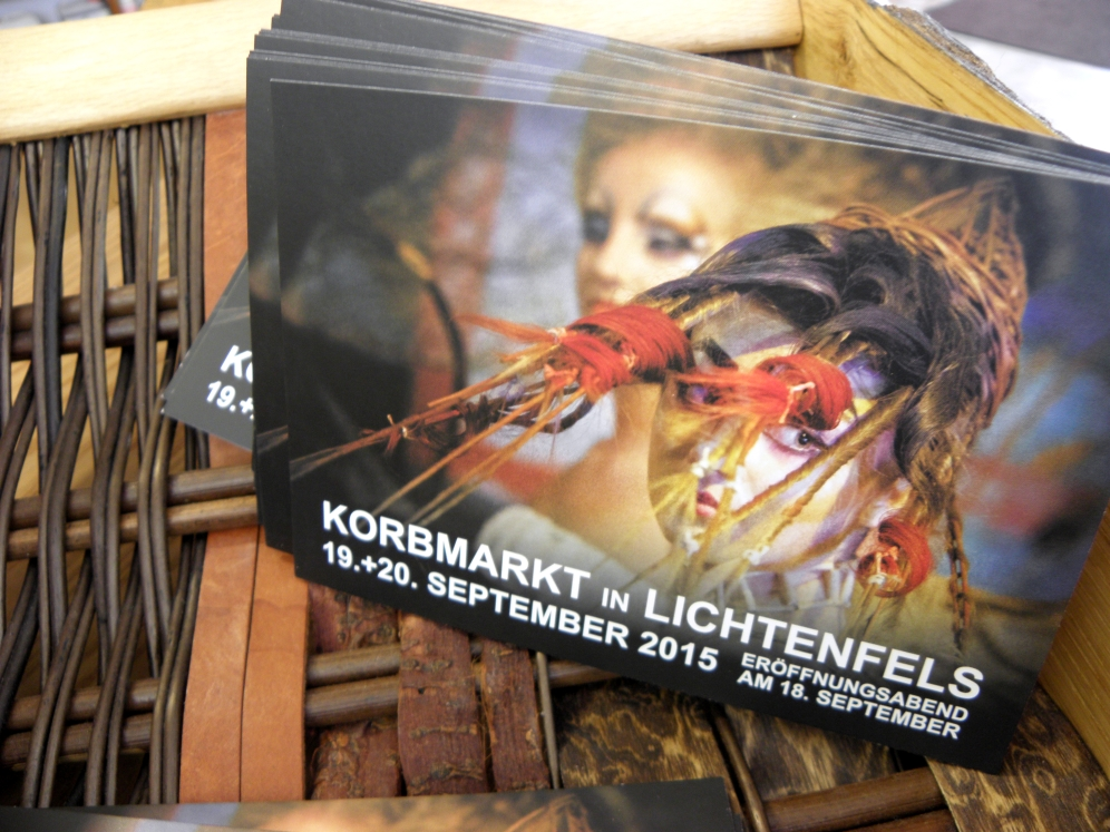 Internationaler Korbmarkt in der deutschen Korbstadt Lichtenfels