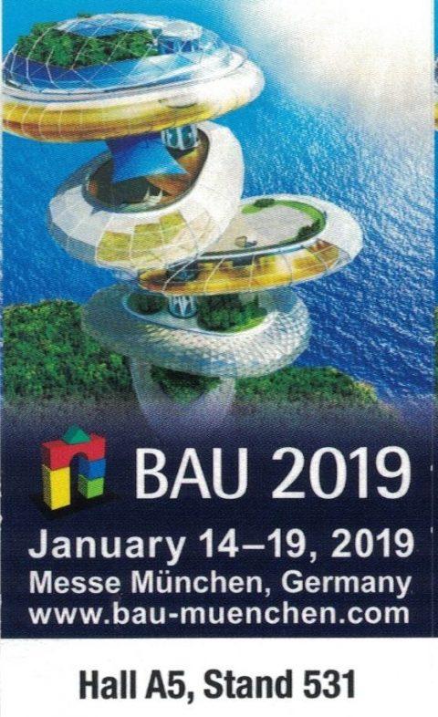 Natural Naturfarben auf der BAU 2019, Halle A5, Stand 531