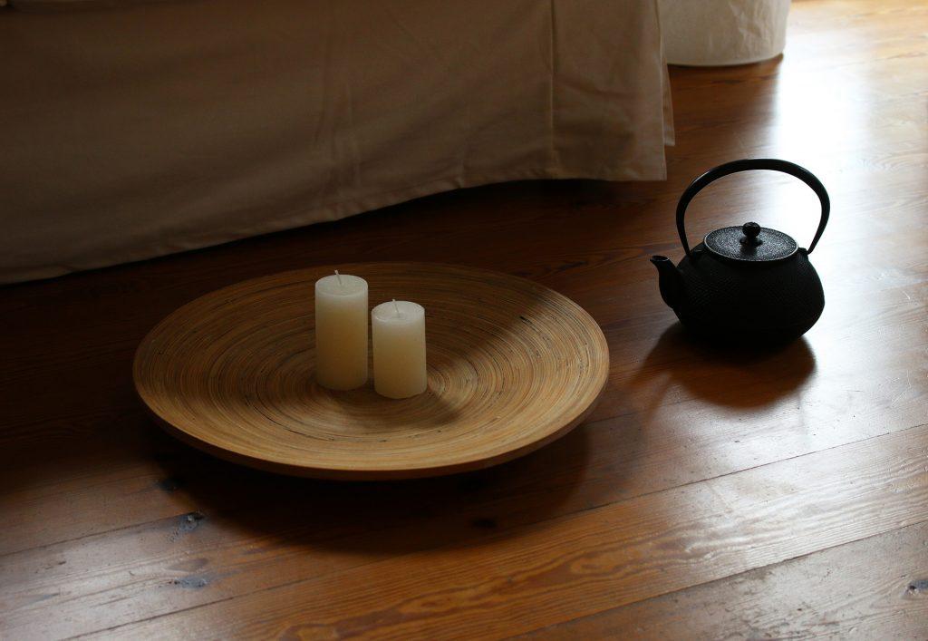 Die Holzpflege von Natural ermöglicht samtige, offenporige Holzoptik