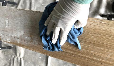 Gartenmöbel hell erhalten mit Pigmentöl