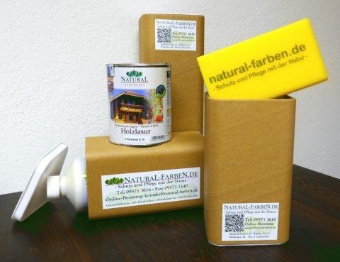 Natural Versandbox mit Zweitnutzen