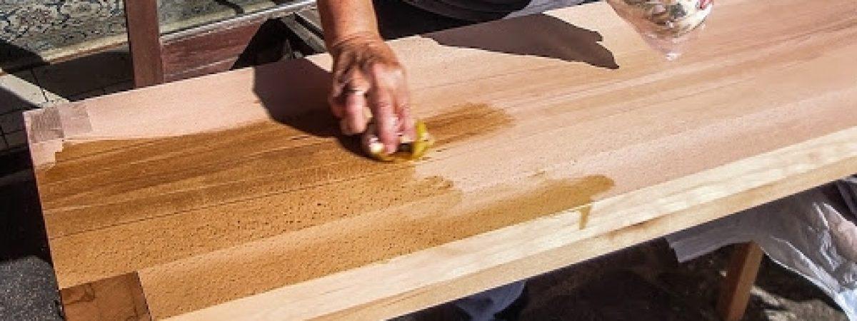 Möbel-Hartöl feuert die Kernbuche an