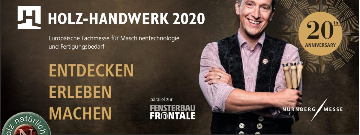 Holz-Handwerk 2020 in Nürnberg mit Natural Naturfarben