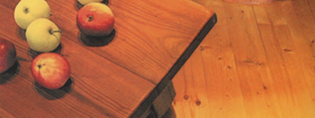 Holz Ölen statt Lackieren
