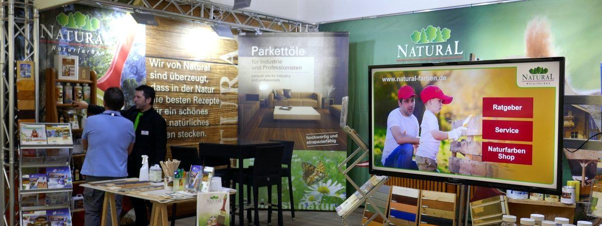 Holzpflege von Natural Naturfarben auf der BAU2019